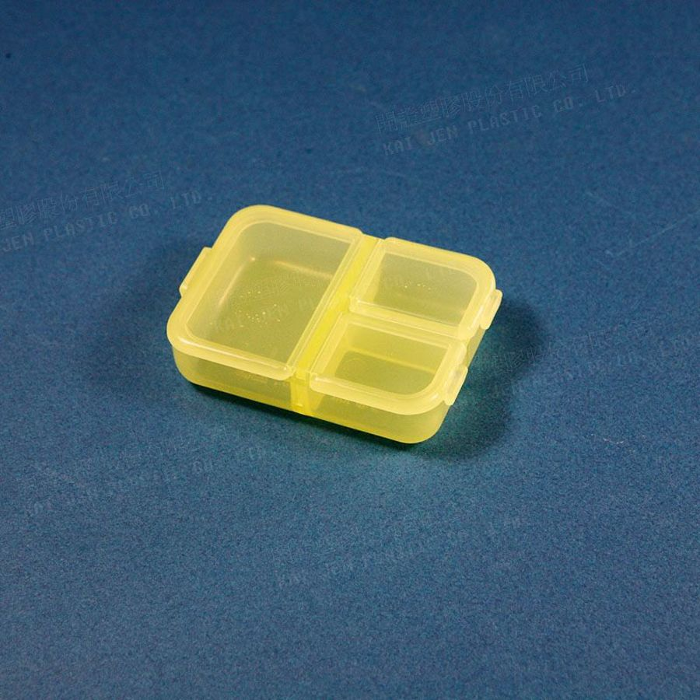 KJ-K943-迷你收納盒 K-943 三格小集盒