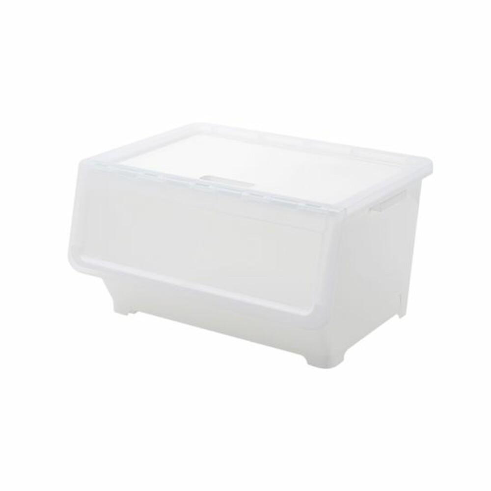 聯府 白色雙開直取式整理箱38L:LD-938