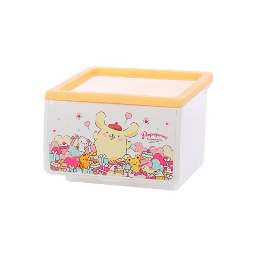 聯府 布丁狗OPEN收納箱 39L (派對 禮物 蛋糕)
