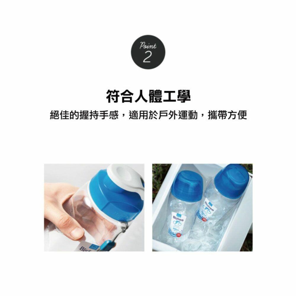 樂扣樂扣優質水壺700ML/附掛帶/水藍(ABF722FN-01)