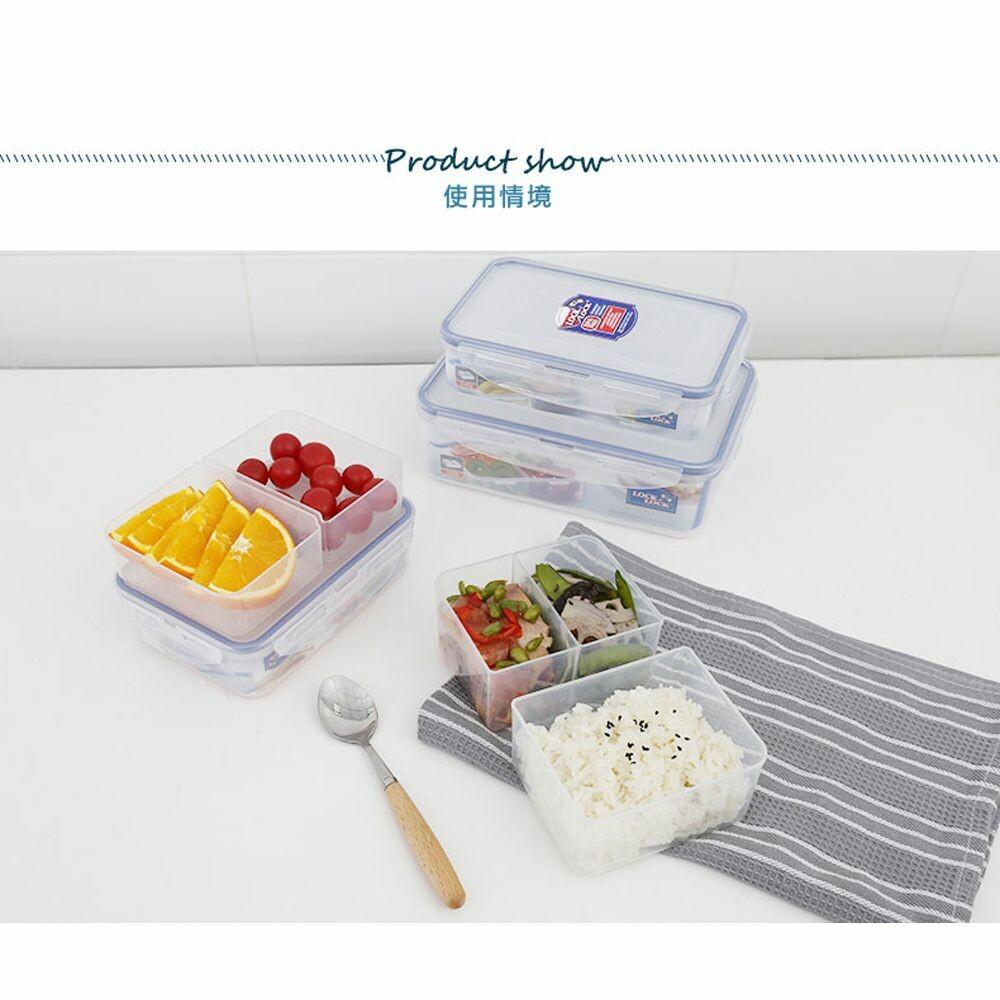 樂扣樂扣PP保鮮盒800ml/附活動隔盒(HPL816C)