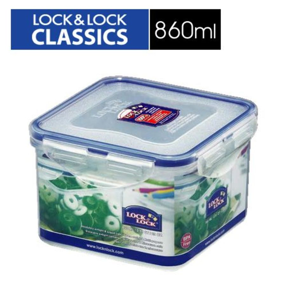 LOCK-HPL855 - 樂扣樂扣PP保鮮盒860ML(HPL855)