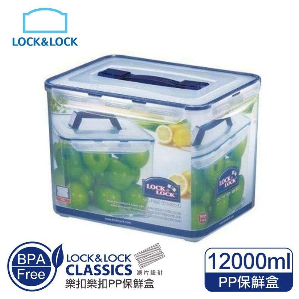 LOCK-HPL889-樂扣樂扣PP保鮮盒12L/附提把(HPL889)