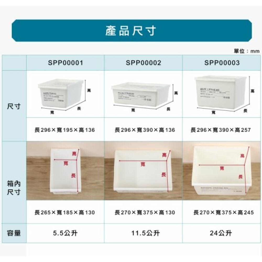 KEYWAY 工業風SPP-00002收納盒附蓋11.5L
